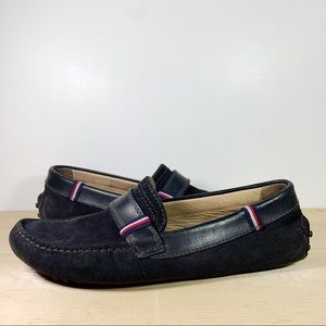 Suede Leather Slip On Loafers